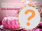 Mensagem Moldura Feliz Aniversário Vovó