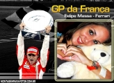 Moldura Felipe Massa GP França