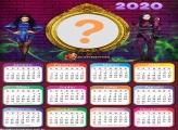 Calendário 2020 Descendentes Moldura