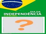 Foto Moldura Bandeira Dia da Independência