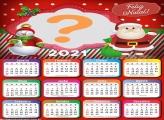 Calendário 2021 para Colocar foto de Natal