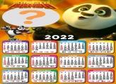 Calendário 2022 Kung Fu Panda Virtual