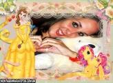 Moldura Poney da Princesa
