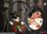 Moldura Halloween do Minnie