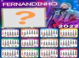 Calendário 2022 Fernandinho Foto Montagem