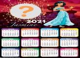 Calendário 2021 Jasmine para Colar Foto