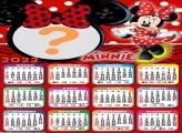 Calendário 2022 Minnie Vestido Vermelho Online