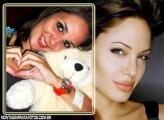 Moldura Angelina Jolie Linda