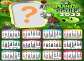 Fazer Montagem Calendário 2022 Plants Vs Zombies