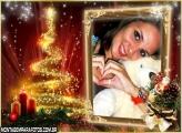Moldura Árvore de Natal Especial