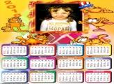 Calendário 2018 Garfield Gato Infantil