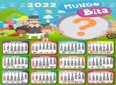 Calendário 2022 Mundo Bita Virtual Online