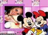 Cartinha de Mine para o  Mickey