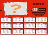 Calendário 2019 Flamengo Escudo