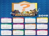 Calendário 2019 Clash Royale o Jogo