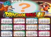 Calendário 2022 Dragon Ball Super Online