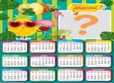 Calendário 2021 de Abacaxi Montagem Online