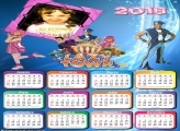 Calendário 2018 LazyTown Discovery Kids
