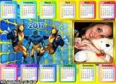Calendário 2017 Volverine Horizontal