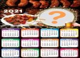 Calendário 2021 Churrasco