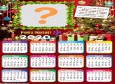 Calendário 2020 Feliz Natal com Mensagem