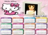 Calendário 2018 da Hello Kitty