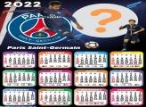 Calendário 2022 Paris Saint Germain Montagem Grátis
