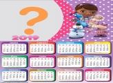 Calendário 2019 Doutora Brinquedo