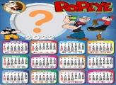 Calendário 2022 Popeye Editar Online Grátis