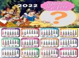 Calendário 2022 Branca de Neve Montagem
