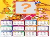 Moldura Calendário 2020 Garfield