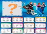 Calendário 2020 da Frozen Foto Colagem