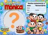 Convite Turma da Mônica