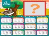 Calendário 2020 Lobo Mau Feliz Natal
