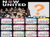 Calendário 2022 Now United Colagem de Foto