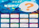 Procurando Dory Montar Calendário 2021