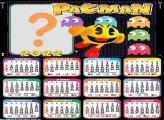 Calendário 2022 Pac Man Foto Online Grátis