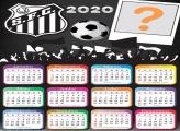 Emoldura Calendário 2020 do Santos
