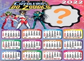 Calendário 2022 Cavaleiros do Zodíaco Online