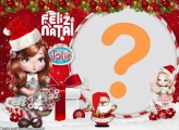 Jolie Feliz Natal Moldura Online