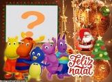Montagem Feliz Natal Os Backyadigans