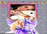 Moldura Cavalo da Barbie