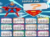 Calendário 2022 Super Pai Superman Colar Imagem