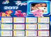 Calendário 2017 Meu Querido Pônei