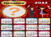 Calendário 2022 Formatura Colagem de Foto