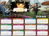 Calendário 2018 Filme Alice