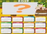 Calendário 2019 do Chaves