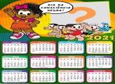 Calendário 2021 Turma da Mônica Consciência Negra