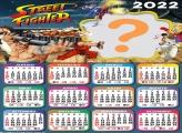 Calendário 2022 Street Fighter Foto Colagem
