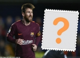 Moldura Jogador Messi